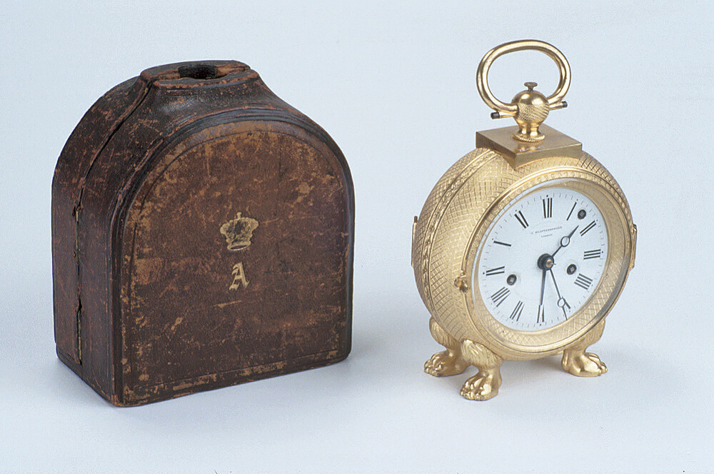preview image for Portable Clock, by J Klaftenberger, London, c. 1830-40