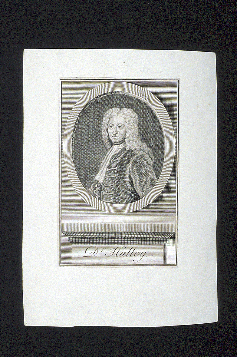 preview image for Print (Engraving) Dr. Halley, 18th Century