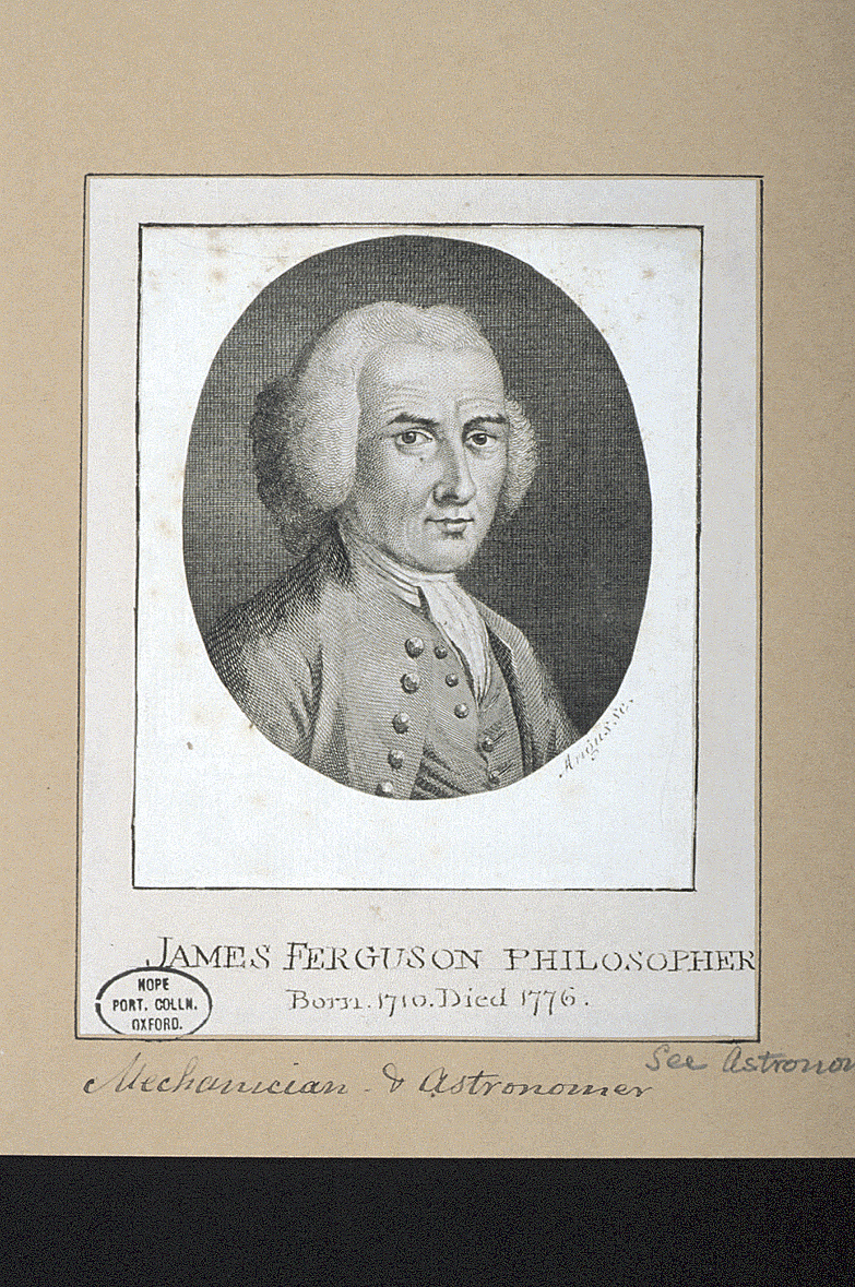 preview image for Print (Engraving) of James Ferguson, by Angus, 18th Century