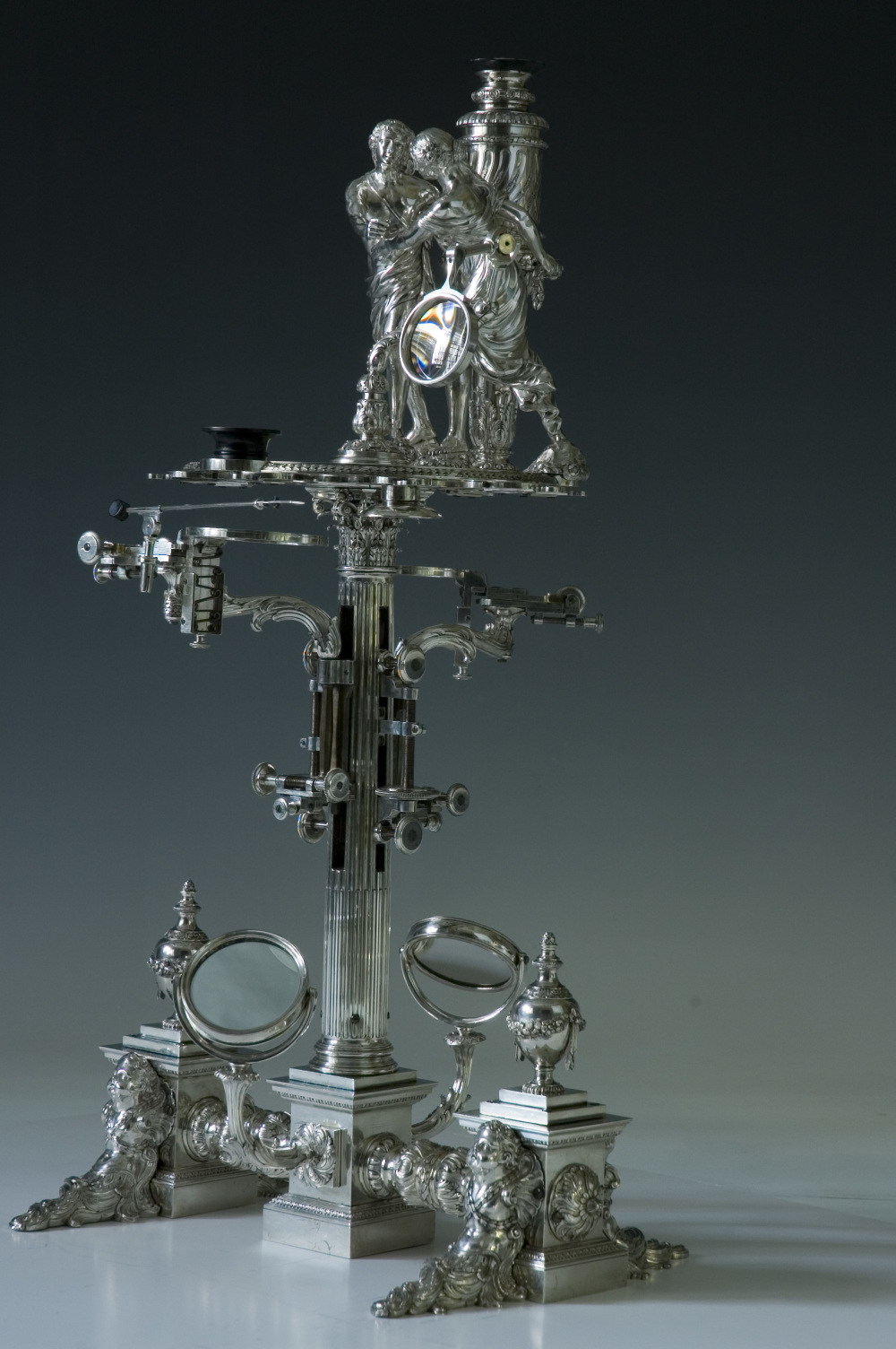 preview image for Microscope in Case with Accessories for George III, by George Adams, London, c. 1763
