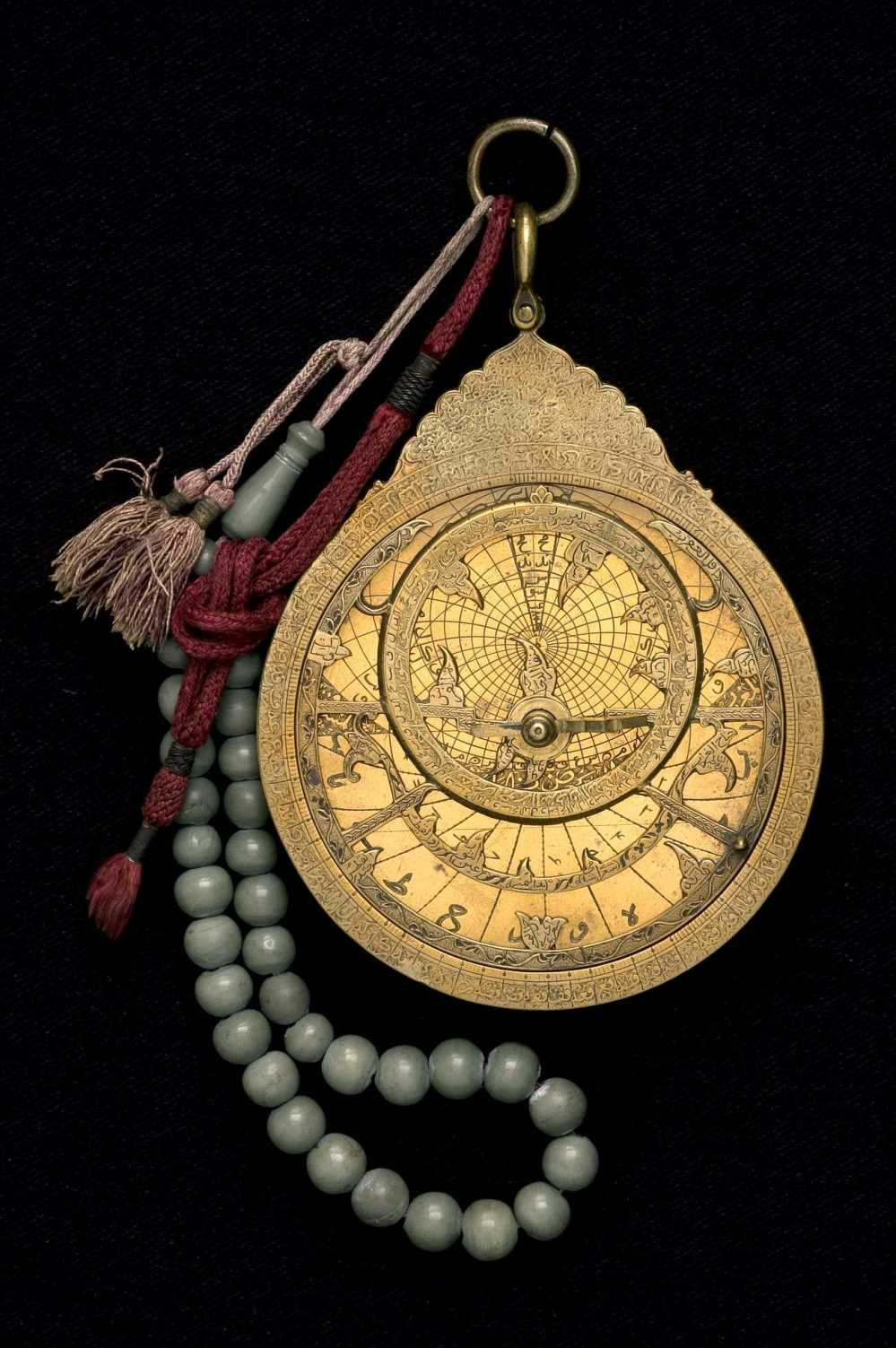 preview image for Astrolabe, by Khalil Muhammad ibn Hasan `Ali, Persian, c. 1700