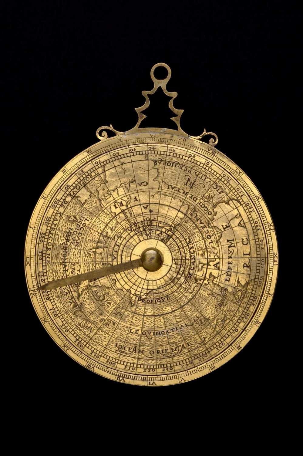 preview image for Geographical Astrolabe, by or for ARN?, French, Late 16th Century?