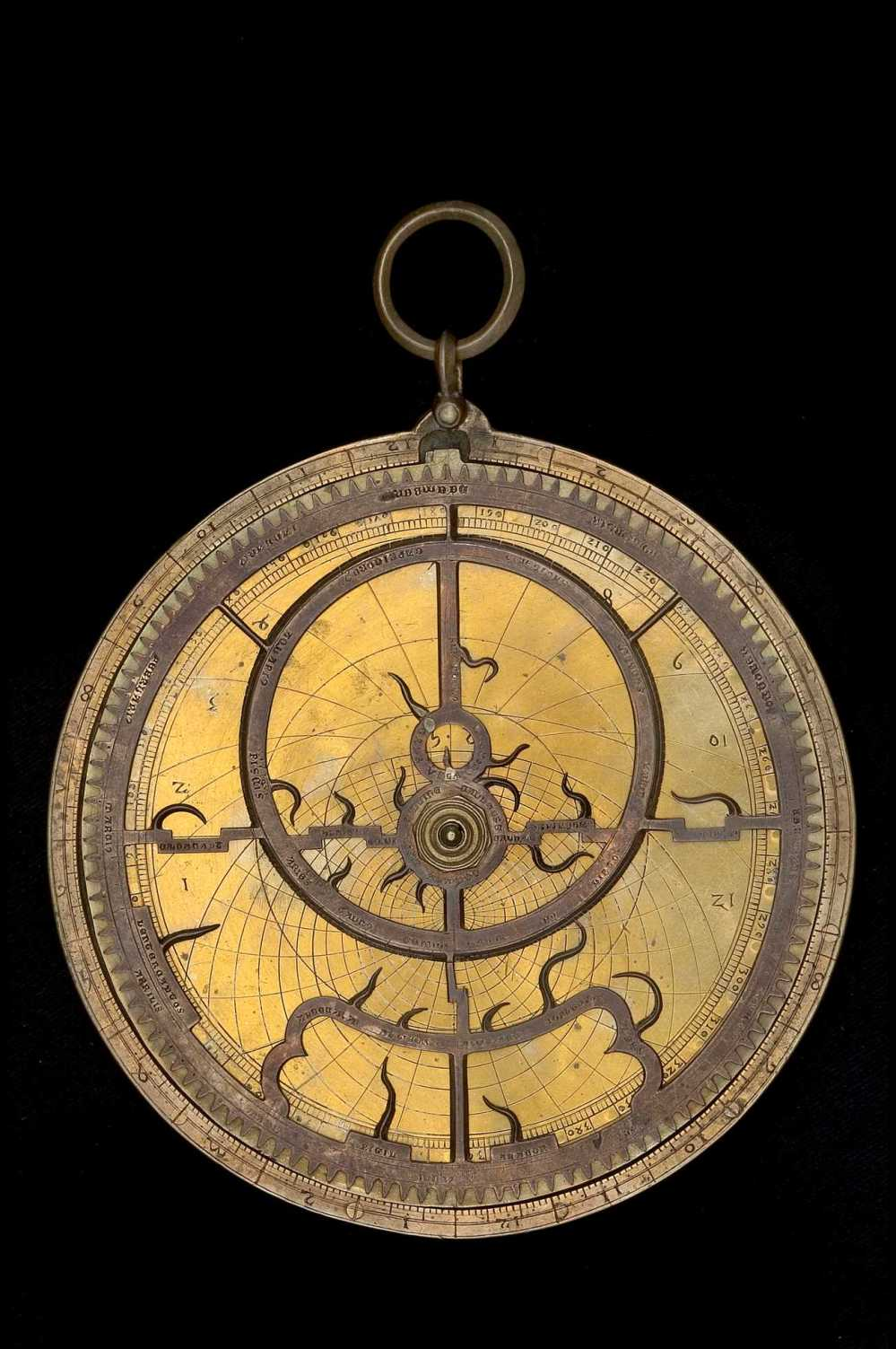 preview image for Gothic Astrolabe with Universal Projection and Toothed Rete, c. 1400