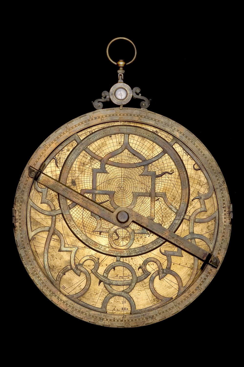 preview image for Astrolabe, attributed to Michiel Coignet, Antwerp?, Early 17th Century