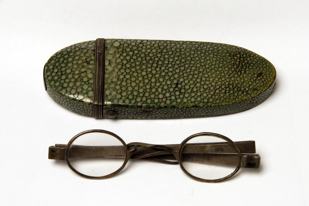 preview image for Wig Spectacles with Case, c.1820