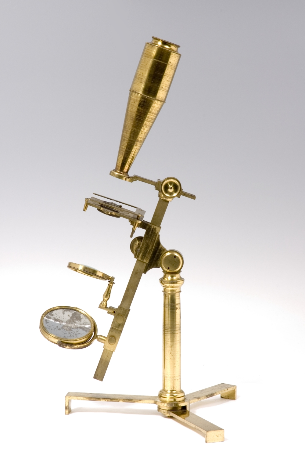 preview image for Compound and Simple Microscope in Case with Accessories, by Banks, London, c. 1811-1820