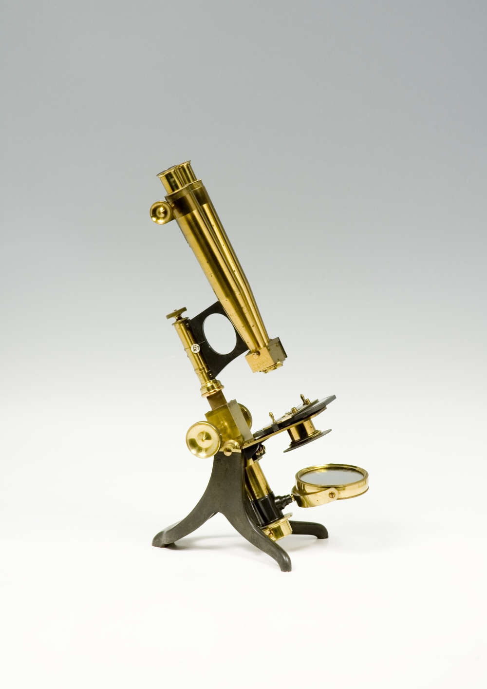 preview image for Compound Binocular Microscope, by Murray & Heath, London, c. 1870