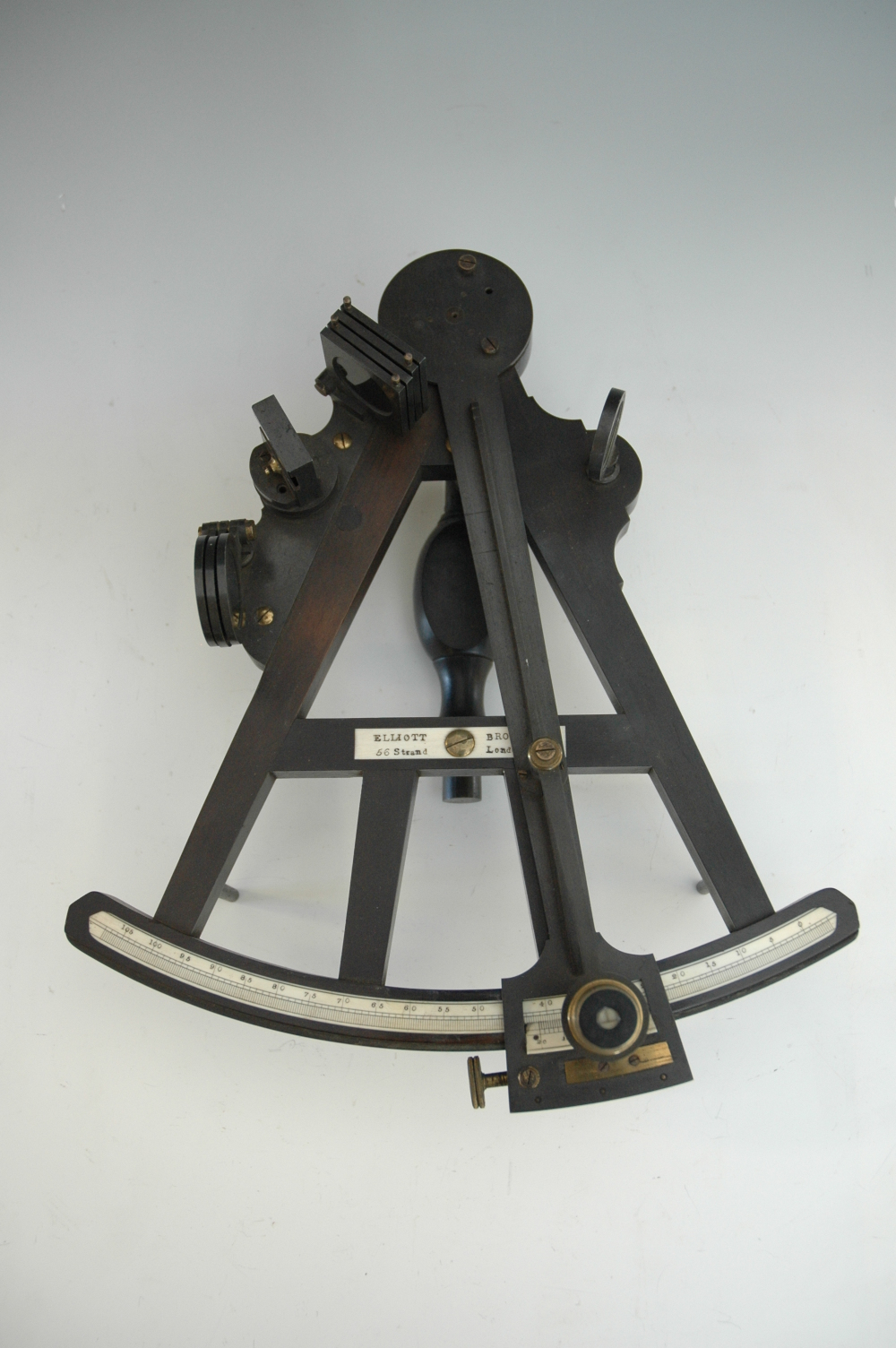 preview image for Ebony Octant and Case, by Elliott Brothers, London, 1850s