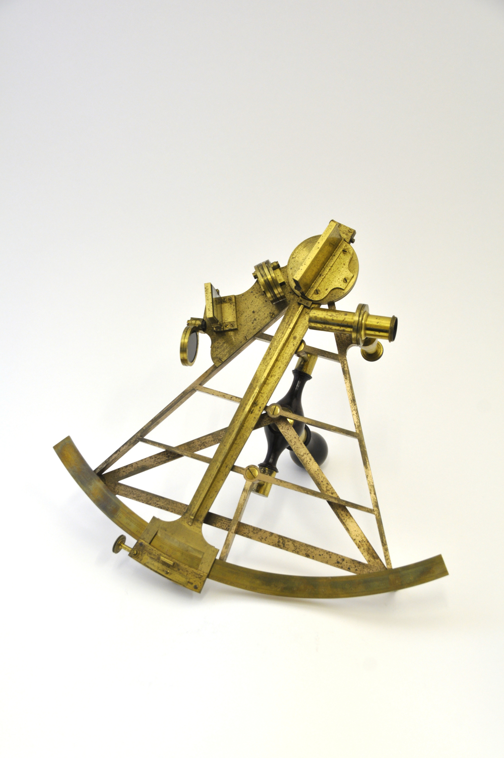 preview image for Sextant with Case and Accessories, by Gilbert, Wright & Hooke, London, 1794-1801