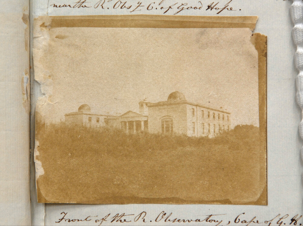 preview image for Photograph (Salted Paper Print) of the Cape of Good Hope Observatory, by Charles Piazzi Smyth, February 1843