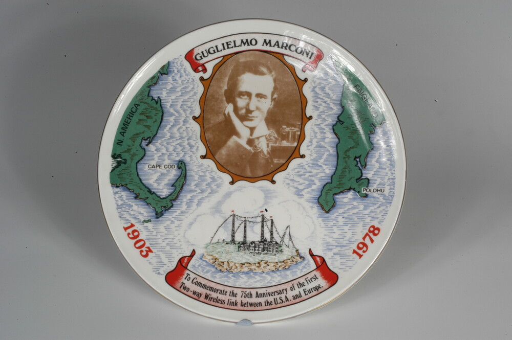 preview image for 75th Anniversary Commemorative Plate, by Ceragraphics, Devon, 1978