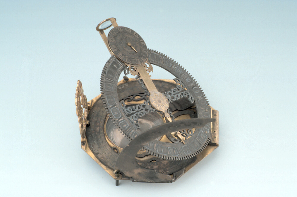 preview image for Mechanical Equinoctial Dial, by J. Vauloue, London, Before 1753