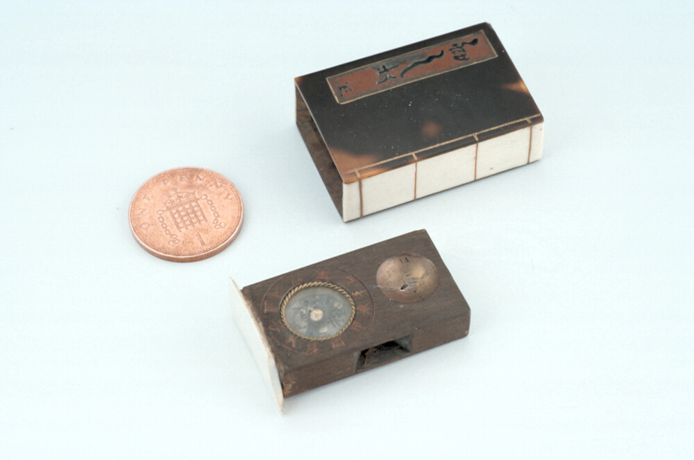 preview image for Scaphe Dial and Compass, Japanese, c. 1900
