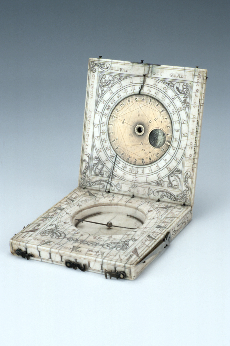 preview image for Diptych Dial, Probably Flemish, 1586