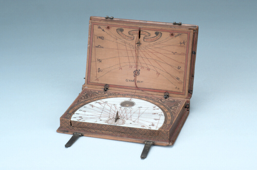 preview image for Diptych Dial and Dialling Instrument, Italian, 18th Century