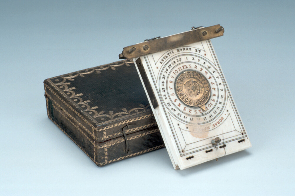 preview image for Diptych Dial, German, Nuremberg?, 1674