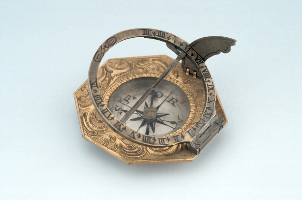 preview image for Equinoctial Dial, by IGV (Johann Georg Vogler?), Augsburg, Mid 18th Century
