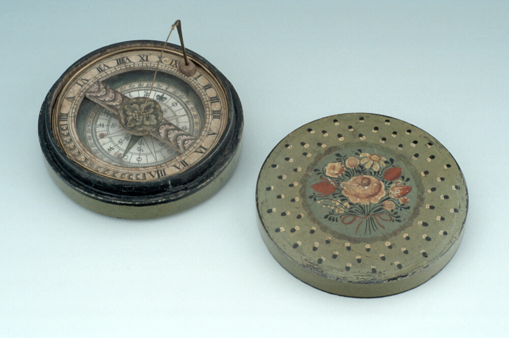 preview image for Horizontal String-Gnomon Dial, German, 18th Century