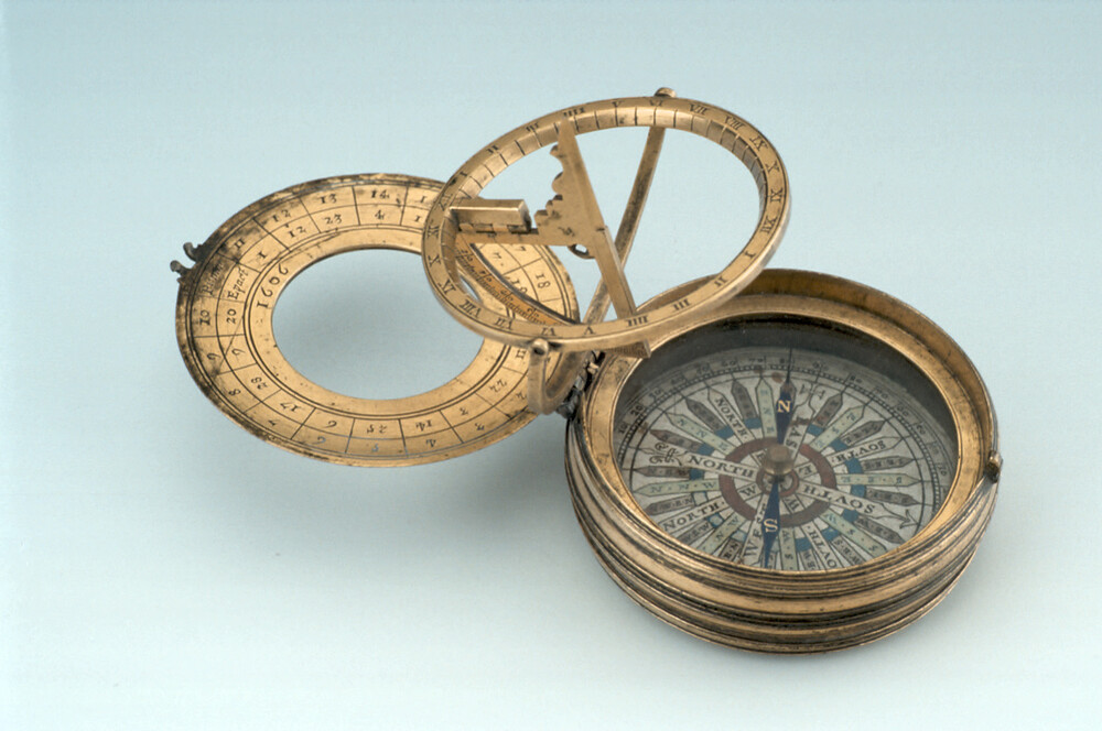 preview image for Equinoctial Dial and Lunar Volvelle, by Charles Whitwell, London, 1606