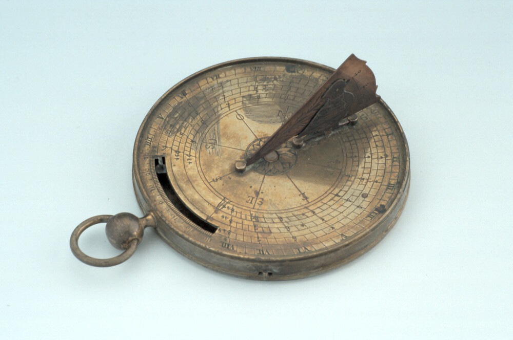 preview image for Horizontal Dial with Adjustable Gnomon, French, c. 1780