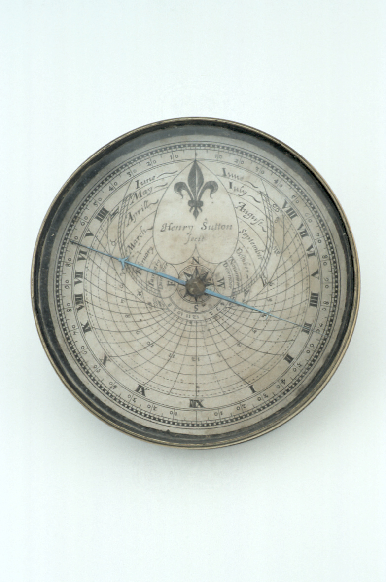 preview image for Magnetic Azimuth Dial, by Henry Sutton, London, c. 1650