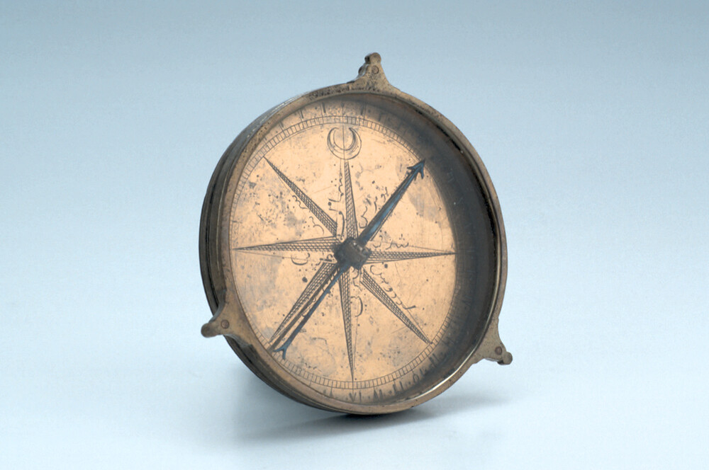 preview image for Compass, Turkish?, c. 1800?