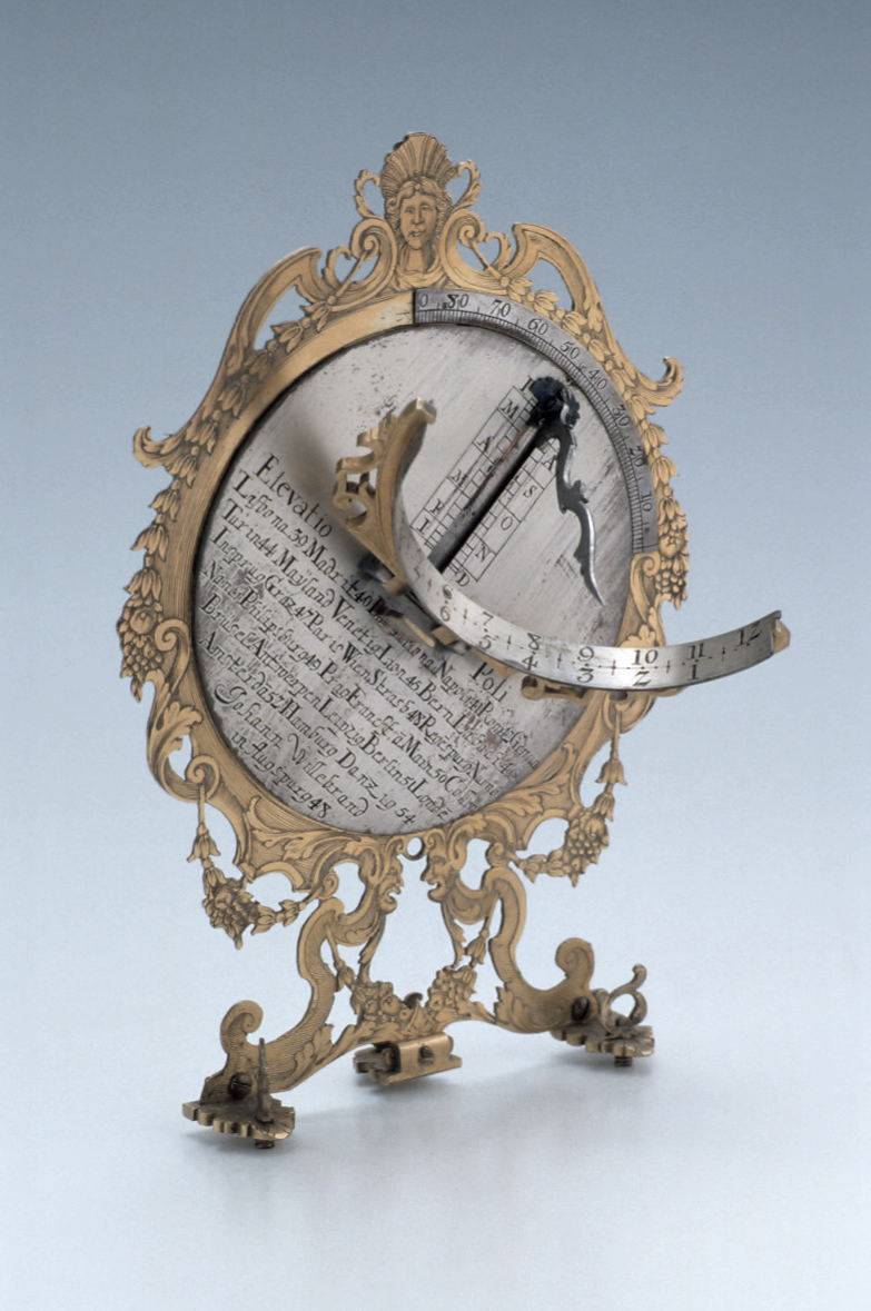 preview image for Crescent Dial, by Johann Willebrand, Augsburg, 1703-26