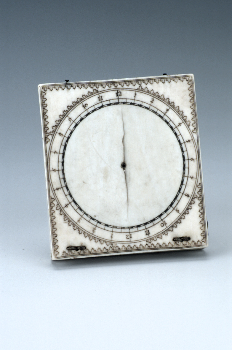 preview image for Bloud-Type Magnetic Azimuth Dial, by Jacques Senecal, Dieppe, Late 17th Century