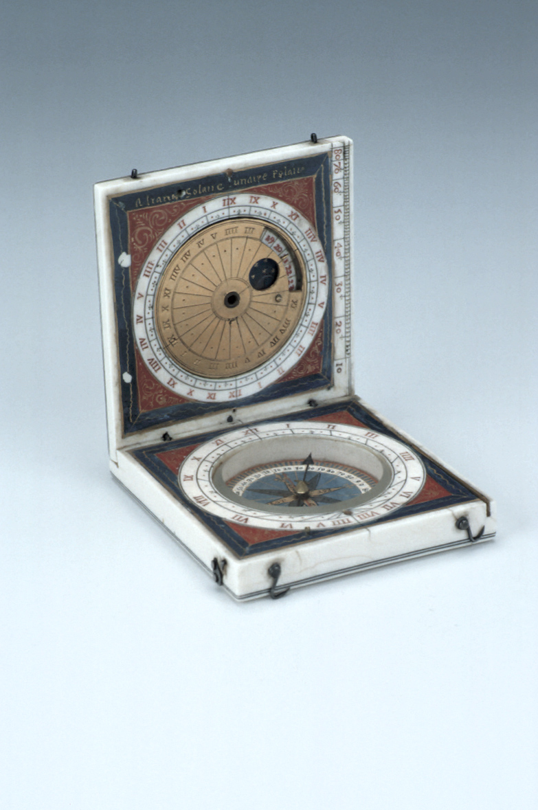 preview image for Diptych Dial, by R. F., French, c. 1620