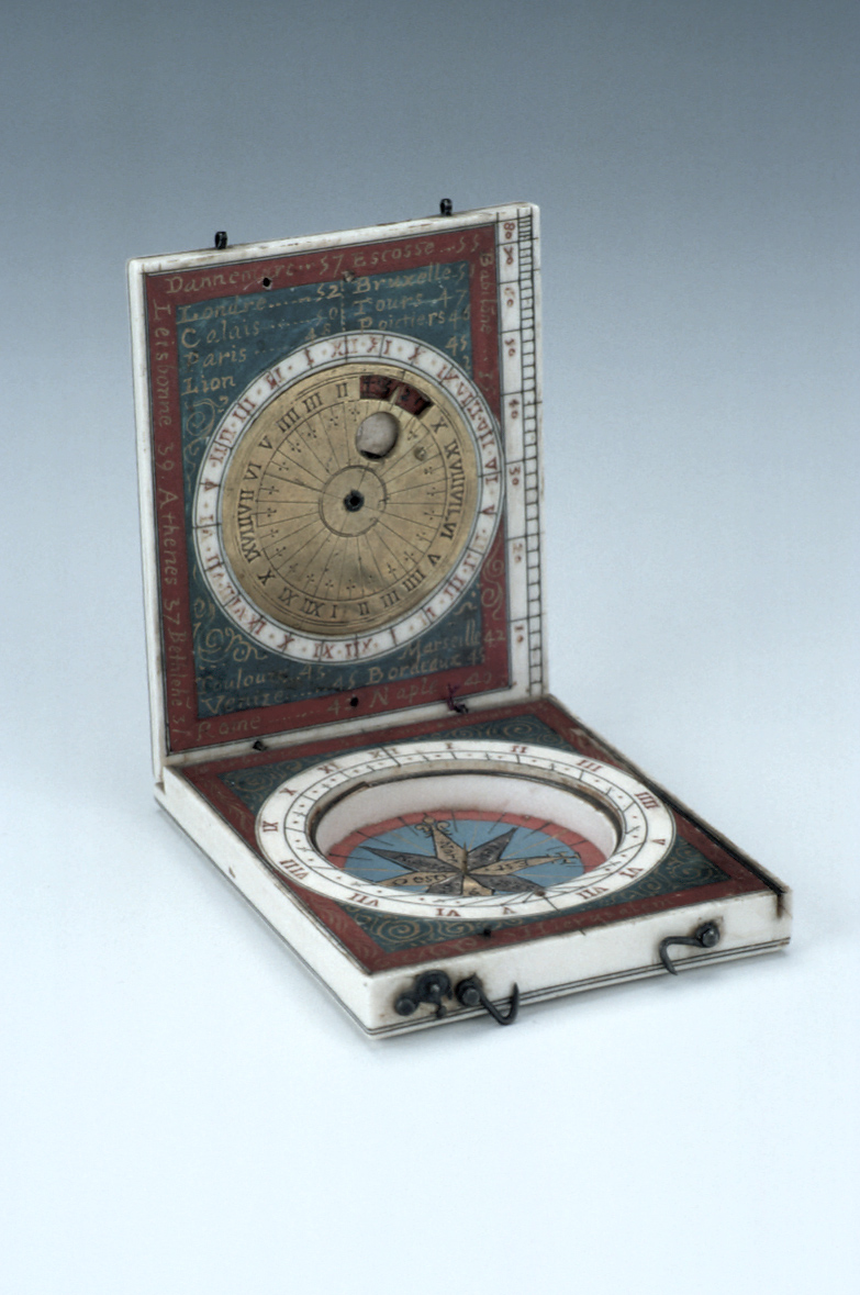 preview image for Diptych Dial, French, c. 1620