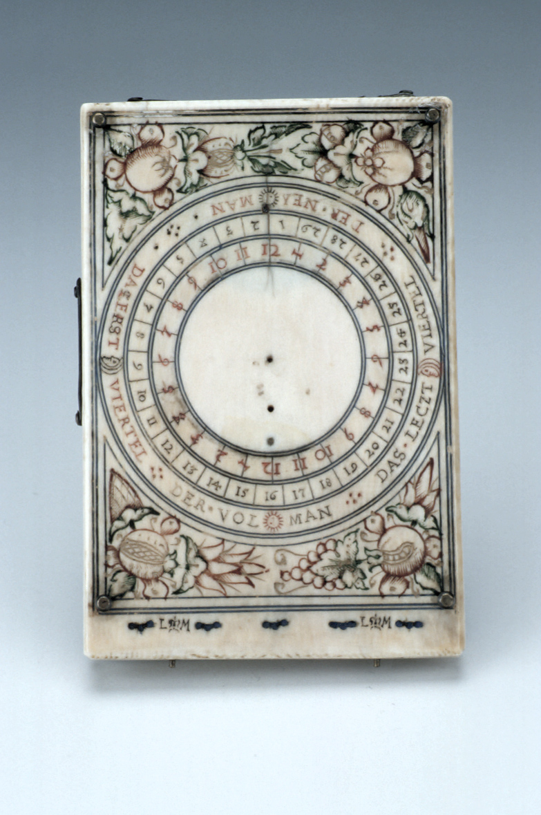 preview image for Diptych Dial, by Lienhart Miller, Nuremberg, 1627