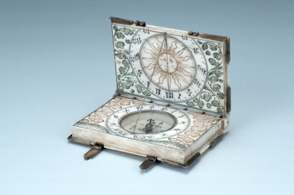 preview image for Diptych Dial, by Conrad Karner, Nuremberg, c. 1620