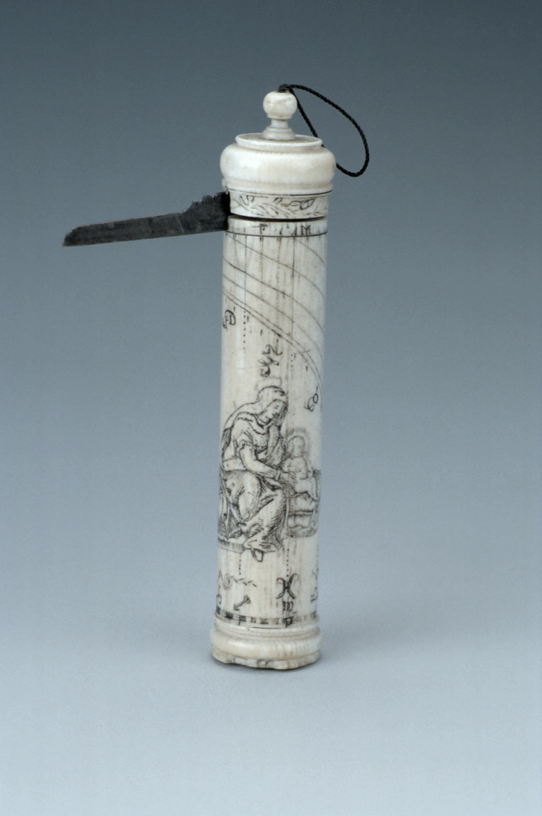 preview image for Cylinder Dial with Virgin and Child, French, 18th Century