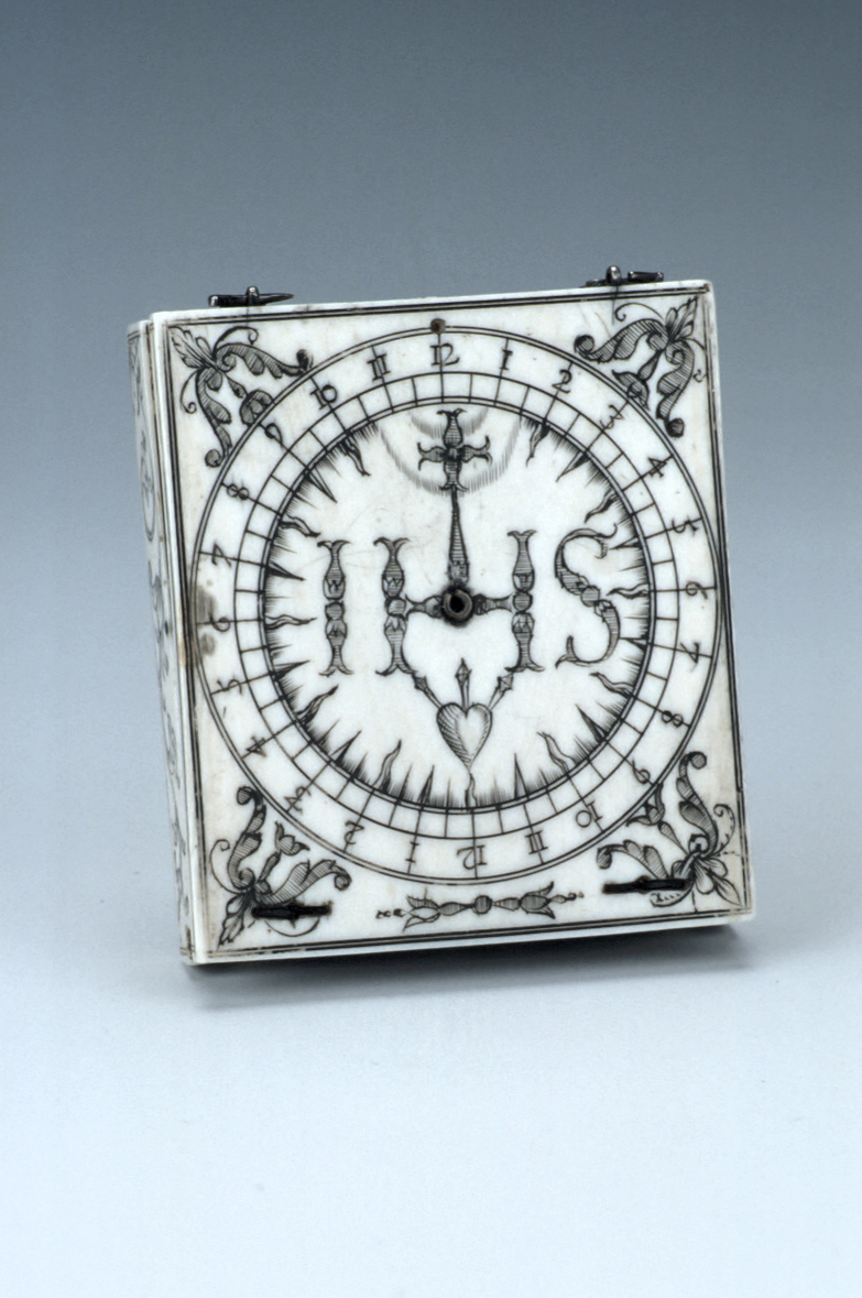 preview image for Bloud-Type Magnetic Azimuth Dial, by Charles Bloud, Dieppe, c. 1660