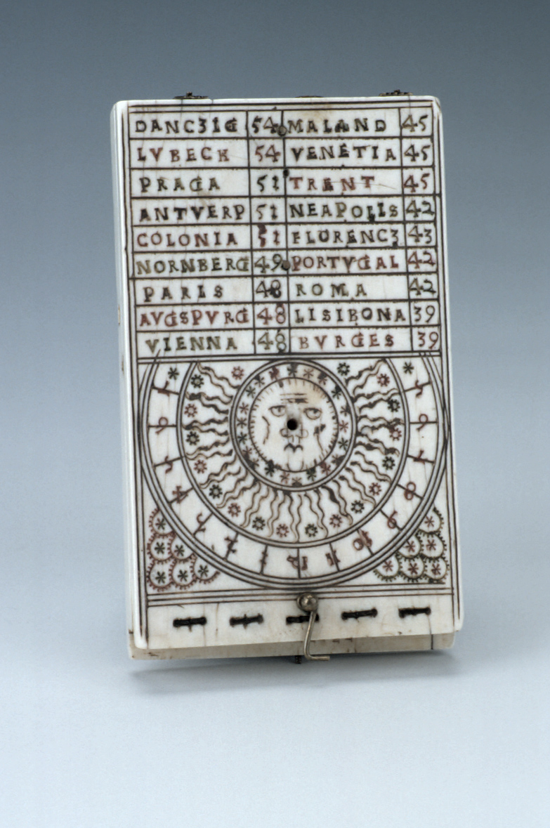 preview image for Diptych Dial, by Johann Gebhart, Nuremberg, 1561