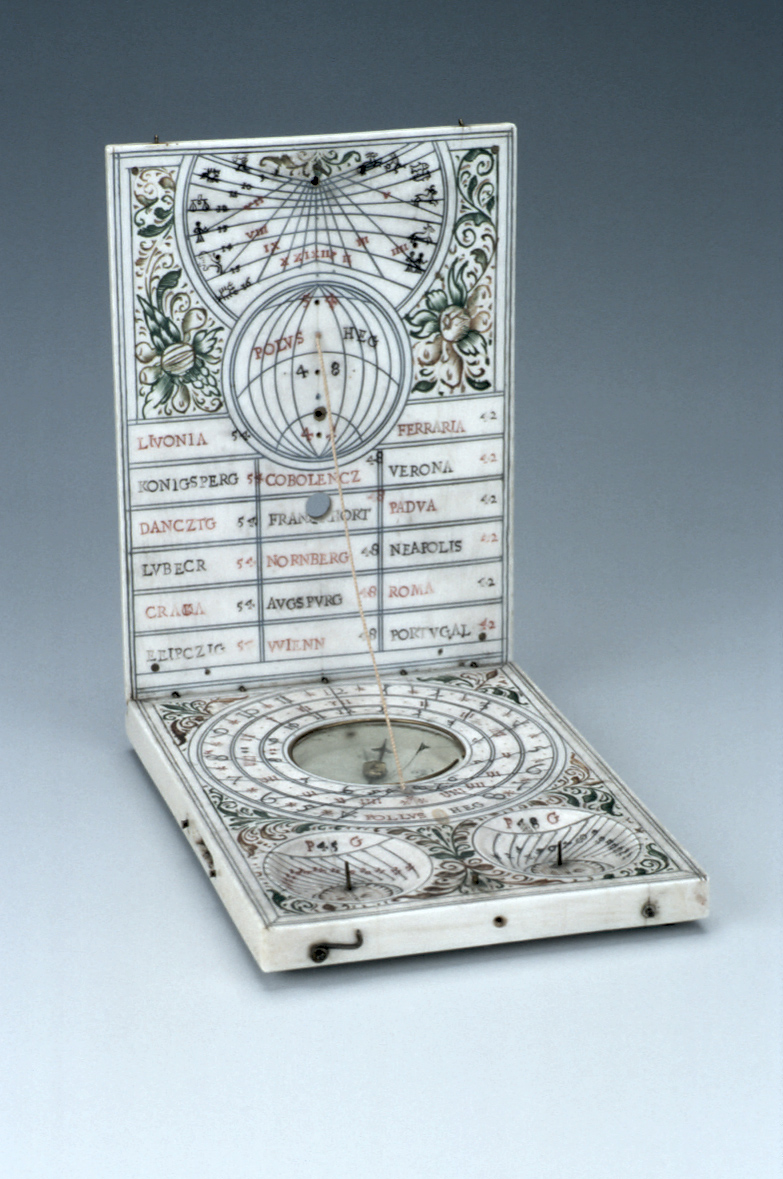 preview image for Diptych Dial, Attributed to Thomas Tucher, Nuremberg, Before 1645