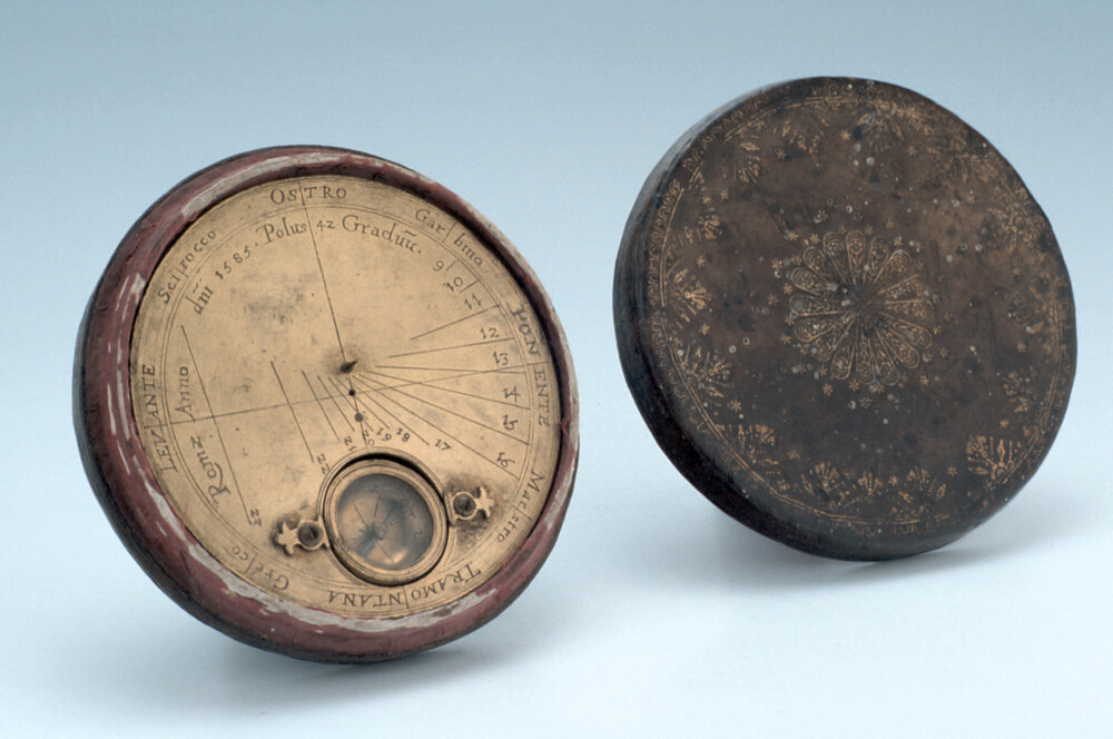 preview image for Horizontal Pin-Gnomon Dial, by Carlo Plato, Rome, 1585