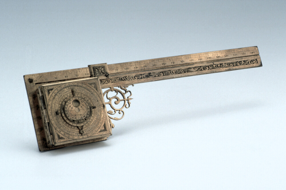 preview image for Horizontal Dial and Square, by Joachim Deuerlin, German, 1619