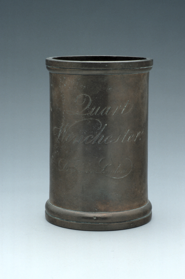 preview image for Winchester Quart Measure, by De Grave, London, Before 1817