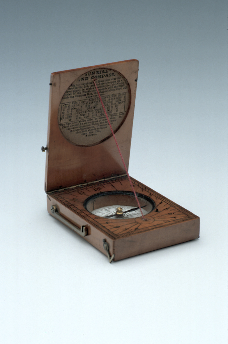 preview image for Horizontal String-Gnomon Dial, English, Early 20th Century