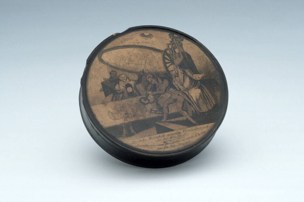 preview image for Snuff Box Depicting Sir John Herschel, German, c.1835