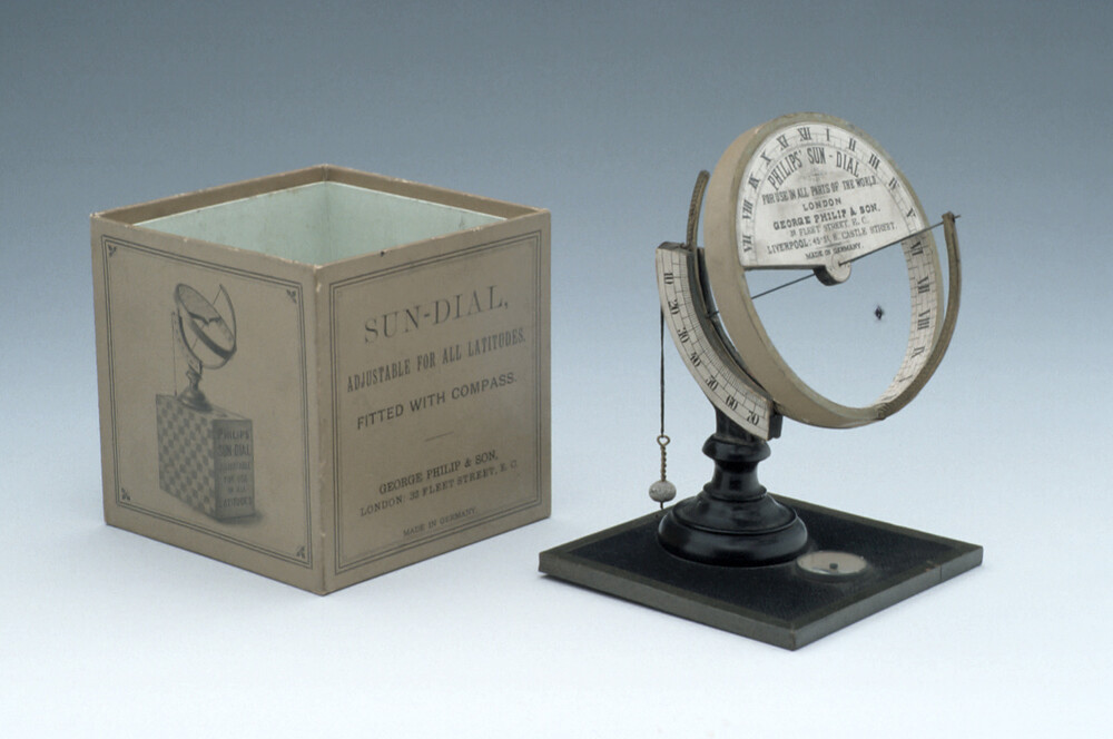 preview image for Equinoctial Dial, Made for George Philip & Son, German, c. 1900