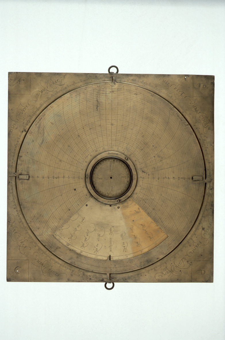 preview image for Simple Theodolite and Sundial, attributed to Arsenius, Flanders, c. 1570