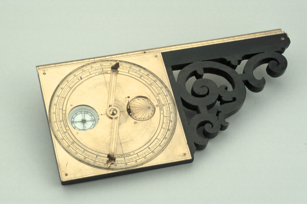 preview image for Simple Theodolite and Sundial, German, Early 17th Century, German?
