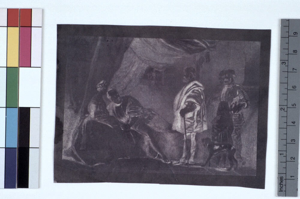 preview image for Photograph (Experimental Photogenic Drawing, Chrysotype), by Sir John Herschel, c.1842