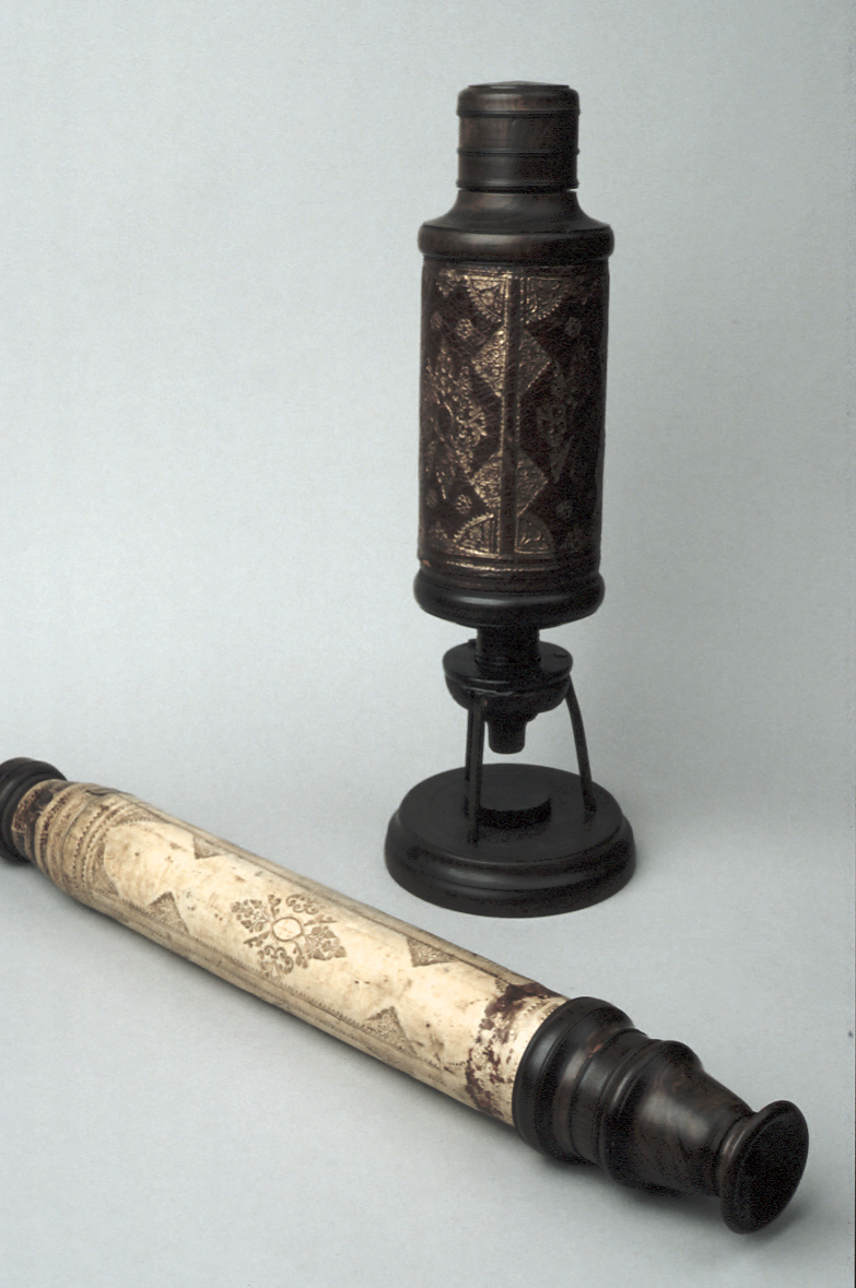 preview image for Refracting Hand-Held Telescope, English, c. 1680