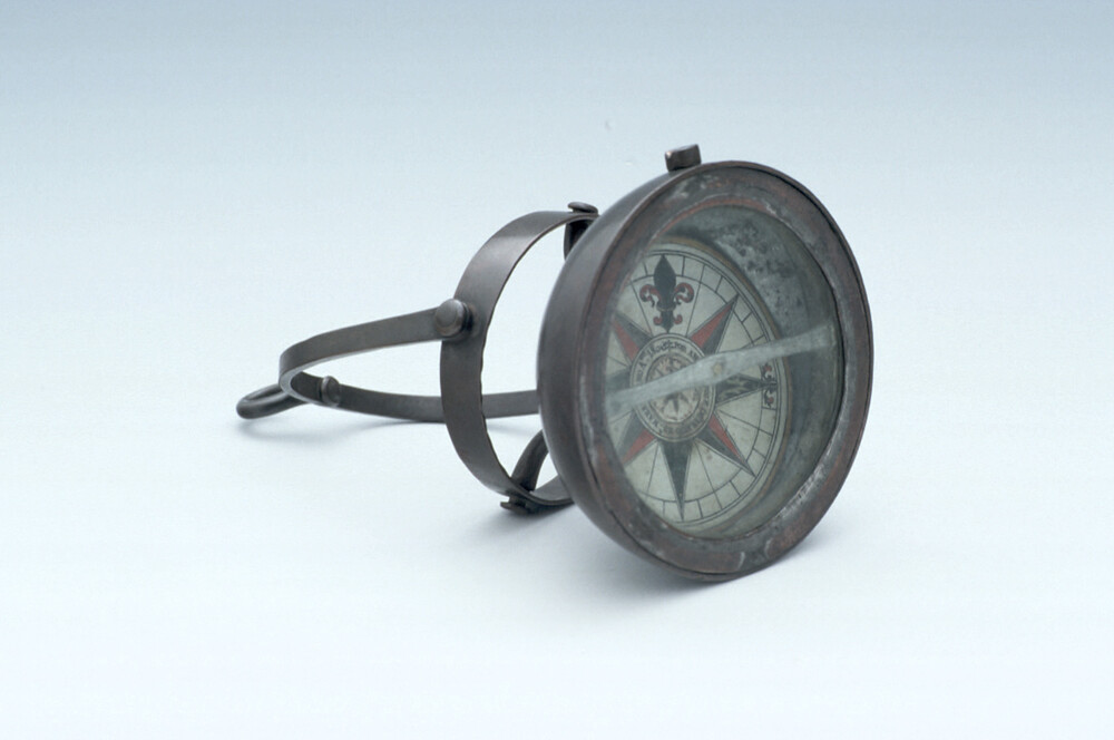 preview image for Marine Hanging Compass, by A. J. de Araujo, Nabahia, 1806