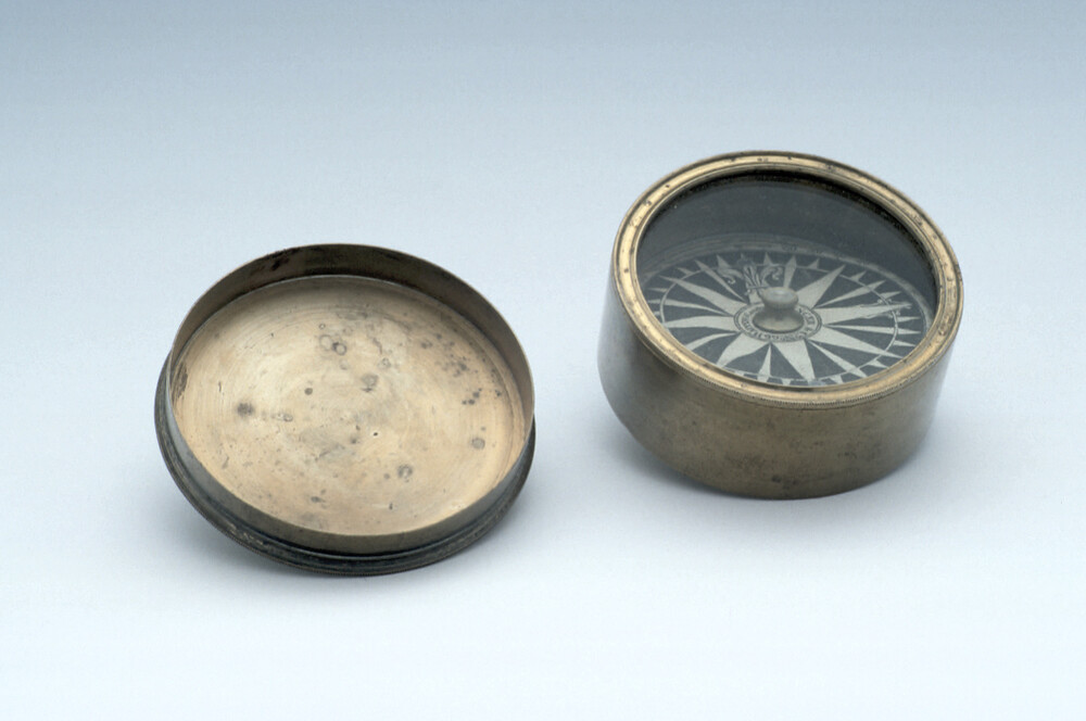 preview image for Magnetic Compass, by Spencer & Co., London, Early 19th Century
