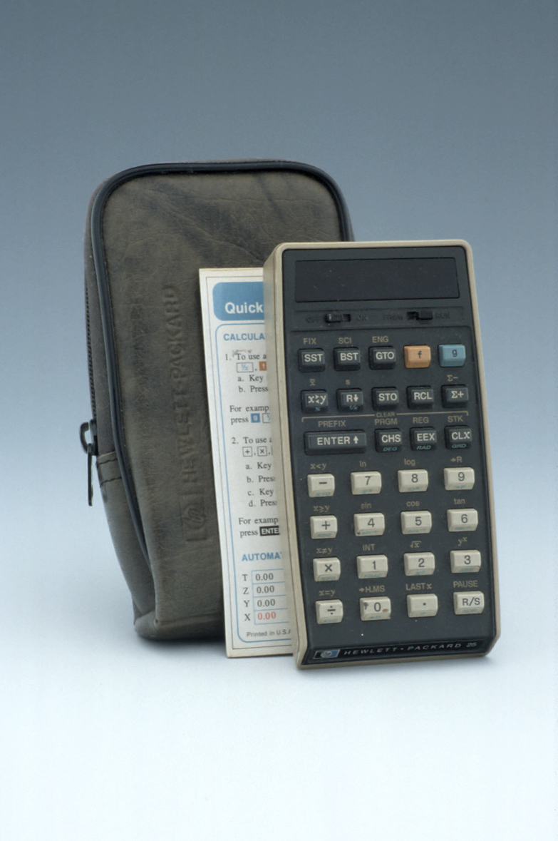 preview image for HP-25 Pocket Electronic Calculator, by Hewlett Packard, Singapore, c. 1975