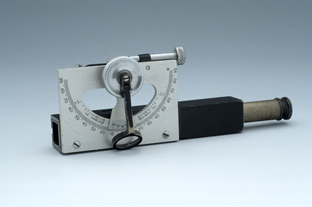 preview image for Abney's Clinometer and Case, English, c. 1930